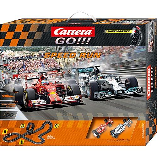 Carrera 20062367 - Go Speed Run, Spielbahnen