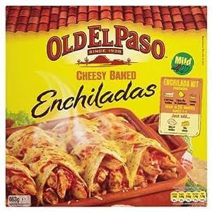 Amazon.com: Old El Paso Cheesy Baked Enchiladas 6 x 663gm