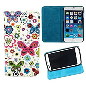 DooDa PU Leather Flip Case Cover For Micromax Canvas Music A88
