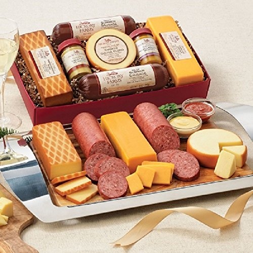 Hickory Farms Summer Sausage and Cheese Gift