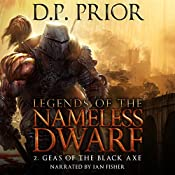 Geas of the Black Axe: Legends of the Nameless Dwarf, Book 2 | D.P. Prior