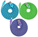 Colorful 2M Extra Long Durable Braide...