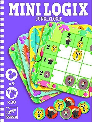 Djeco Mini Logix, Jungle Card Set