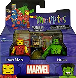 Marvel Minimates Greatest Hits Wave 1 Iron Man & Hulk 2 Pack