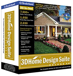 Amazon.com: 3D Home Design Suite Deluxe 4.0: Software
