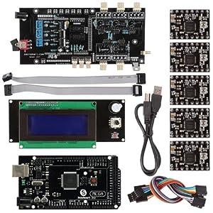 SainSmart Mega2560+ Smart LCD 2004 Controller A4988 + Ultimaker 1.5.7 3D Printer Kit for Arduino RepRap