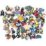 Lot of 50 Pcs PVC Different Shoe Charms for Croc & Jibbitz Bands Bracelet Wristband