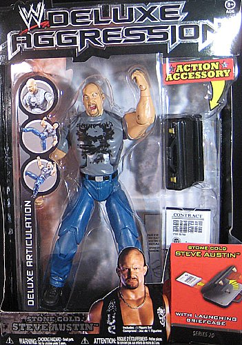 Buy Low Price Jakks Pacific WWE Deluxe Figures Series #20 Stone Cold (B002AMUE2U)