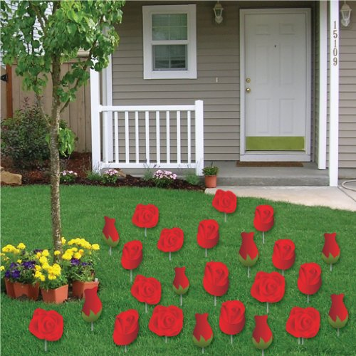Valentine day outdoor decorations for home for Cupid decorations home