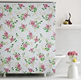 "Home Candy Glory PEVA Shower Curtain - 70""x70"", Multicolor"