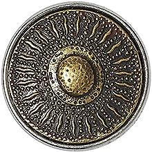Noosa Chunk Korean Sunflower brass-brass
