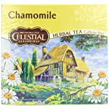 Celestial Seasonings Chamomile Herb Tea, Caffeine Free, 40-Count Tea Bags (Pack of 6)
