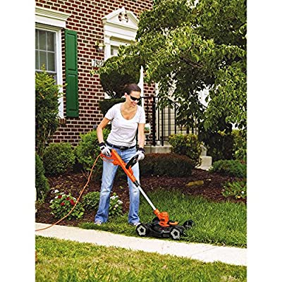 Black & Decker 12-Inch 3-in-1 Trimmer/Edger and Mower