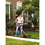 BLACK+DECKER MTE912 6.5-Amp Electric 3-in-1 Trimmer/Edger and Mower, 12""