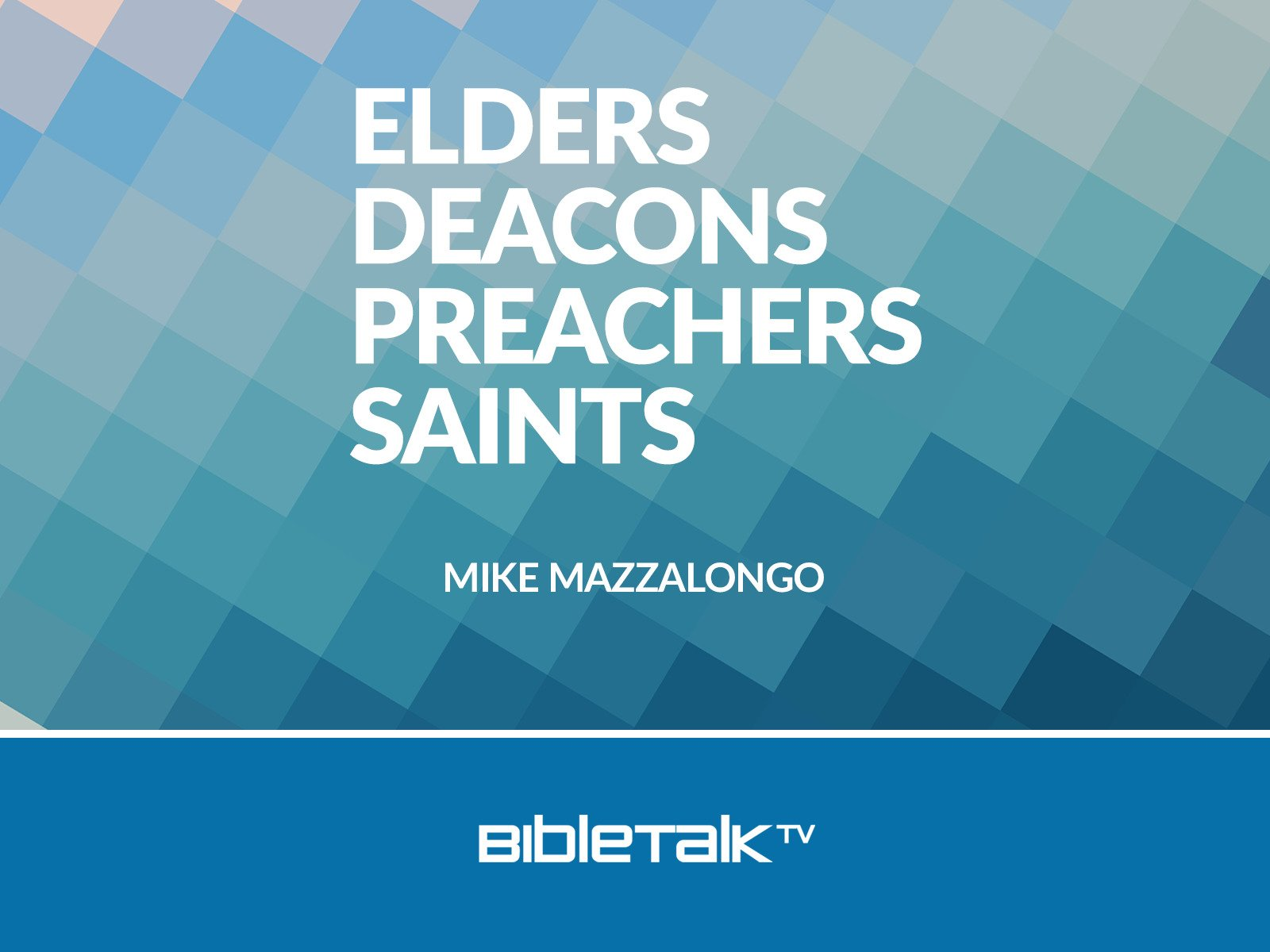 Elders, Deacons, Preachers, Saints - Season 1