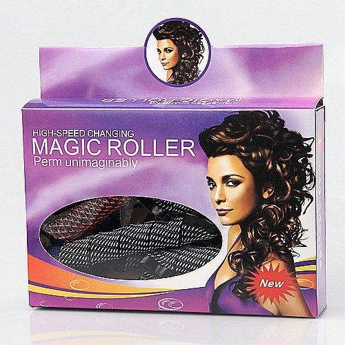 18pc Magic Leverag DIY Hair Perm Curlers J0592-1