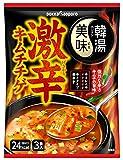 ポッカサッポロ 韓湯美味 激辛キムチチゲ 3食入×10袋