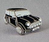 Metal Enamel Pin Badge Brooch Black Mini Style Car
