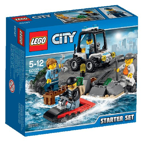 LEGO City Polizia 60127 - Starter Set Polizia dell'Isola