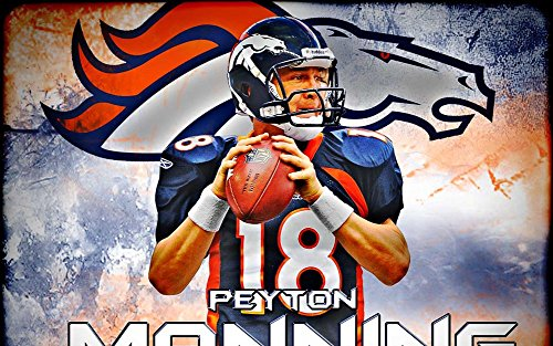 Peyton-Manning-Fabric-Cloth-Rolled-Wall-Poster-Print-Size-40-x-24-21-x-13
