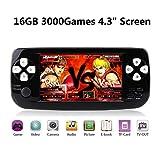BAORUITENG Handheld Game Console, Portable Video Game 4.3