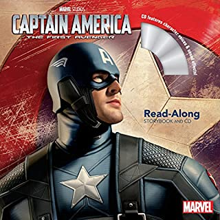 Book Cover: Captain America: The First Avenger Read-Along Storybook and CD
