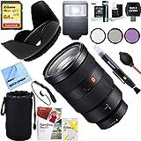 Sony SEL2470GM FE 24-70mm F2.8 GM Full Frame E-Mount Lens + 64GB Ultimate Filter & Flash Photography Bundle
