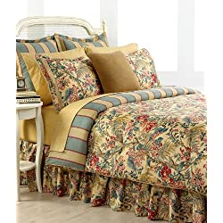 Ralph Lauren Tangier Floral Cotton Queen 4pc Comforter Set - 886087032604