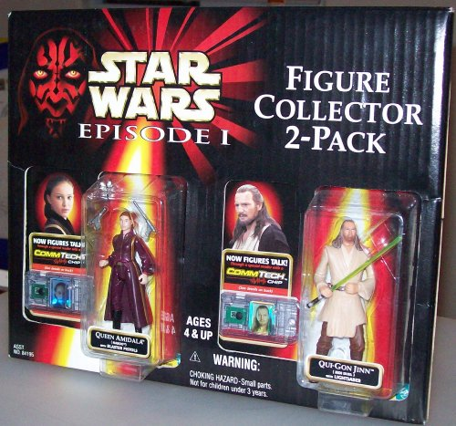 Star Wars Episode I Figure Collector 2-pack Queen Amidala & Qui-gon Jinn