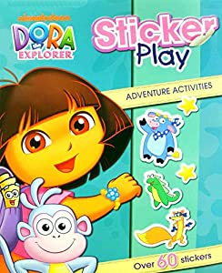 Nickelodeon Dora The Explorer: Sticker Play Book