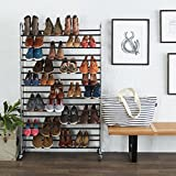 AmazonBasics 50-Pair Shoe Rack