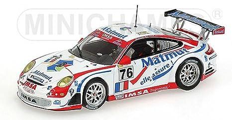 Minichamps Porsche 911 (997) GT3-RSR Le Mans 2007 (#76)- 1:43