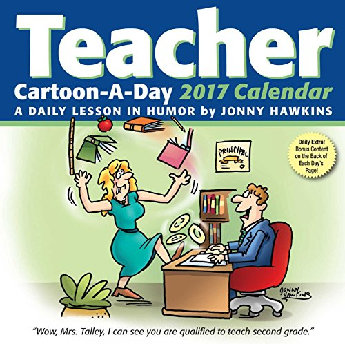 Teacher Cartoon-a-Day 2017 Calendar