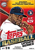 2016 Topps MLB Baseball Traded Updates and Highlights Series Factory Sealed 72 Card Hanger Box with Possible Autographs, Game Used Relic cards and more