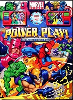 Marvel comic books monopoly board game