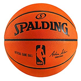 "Spalding NBA Official Game Basketball (2014) - Official Size 7 (29.5"")"
