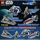 ガチャガチャ LEGO STAR WARS レゴ スター・ウォーズ Part2 全4種セット