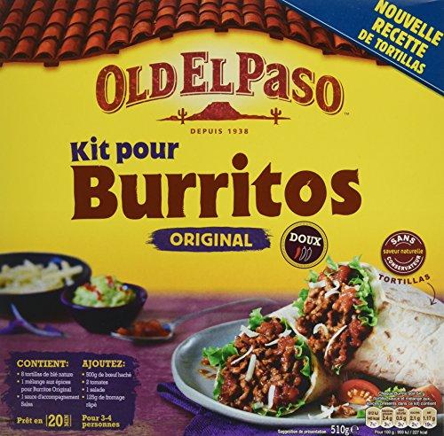 old-el-paso-kit-pour-burrito-510-g-lot-de-10