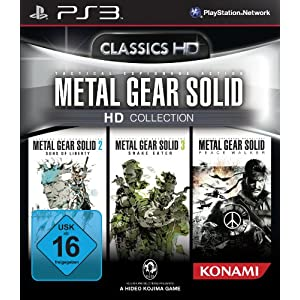 Metal Gear Solid - HD Collection