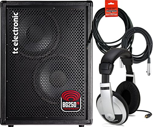 Tc Electronic Bg250 / 210 Combo Bass Amp W/ 2 Cables And Headphones (With Rebate Offer!)