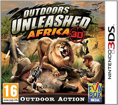 Outdoors Africa Unleashed (Nintendo 3DS)