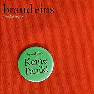 brand eins audio: Panik Audiomagazin