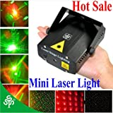 TSSS® Mini Portable Projector Holographic Stage Light DJ Disco Party Lighting Show Pub Club Bar Wedding high quality,24 months warranty+Free Gift