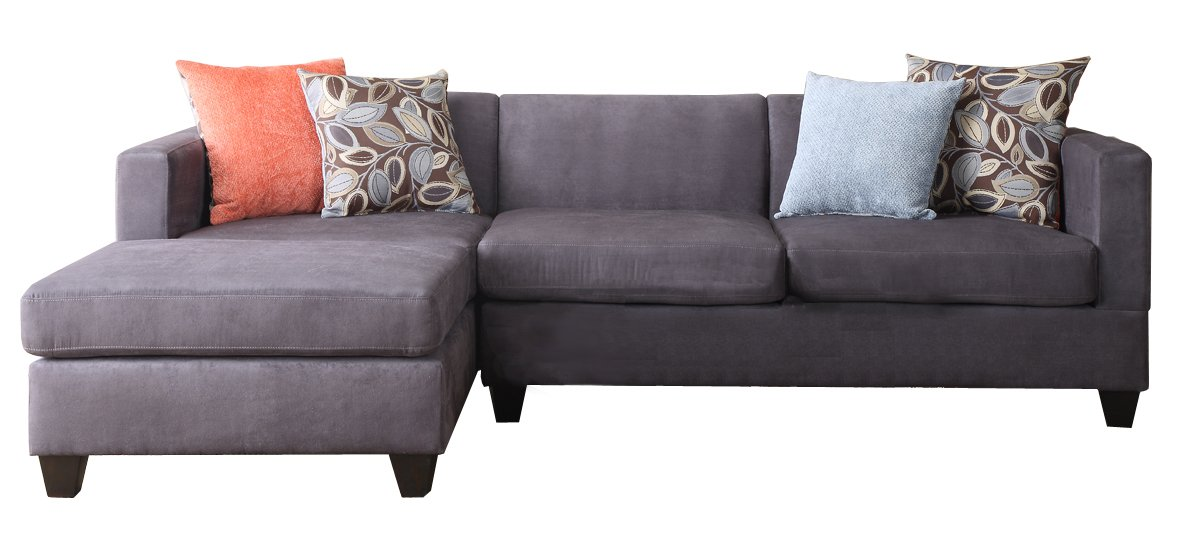 2-Pcs Sectional Sofa By Poundex