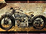Portfolio Canvas Décor Large Printed Canvas Wall Art Painting, 30 X 40 Inch, Hell on Wheels Framed and Stretched Ready to Hang Reviews