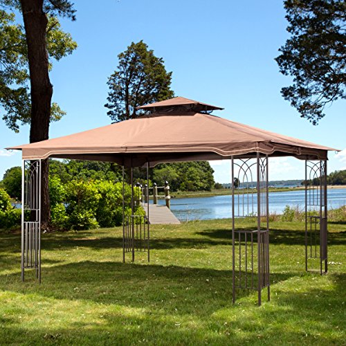 10 x 12 regency ii patio gazebo with mosquito netting - Insect netting for gazebo ...