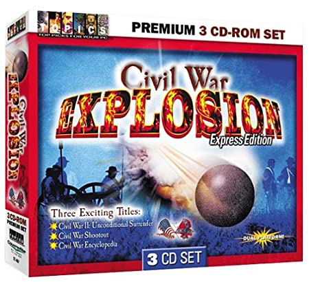 Civil War Explosion 3 CD-Rom Set (Jewel Case)