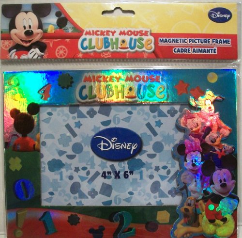 1 X Mickey Mouse Clubhouse Magnetic Picture Frame (4x6 In)
