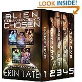 Alien Commander's Chosen Complete Series (Scifi Alien Romance Parts 1-5)