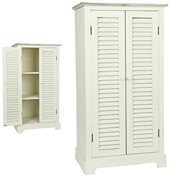 Clayre y fed 5H0091 armario madera blanco 53 x 35 x 100 cm aprox